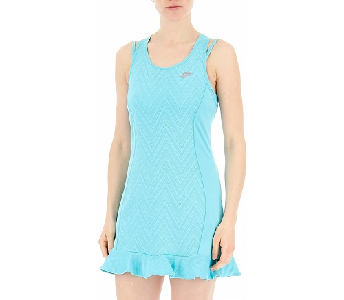 Đầm Tennis LOTTO Nixia IV Dress Bra Women (Xanh)
