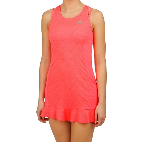 ĐẦM TENNIS LOTTO NIXIA IV DRESS BRA WOMEN (HỒNG)