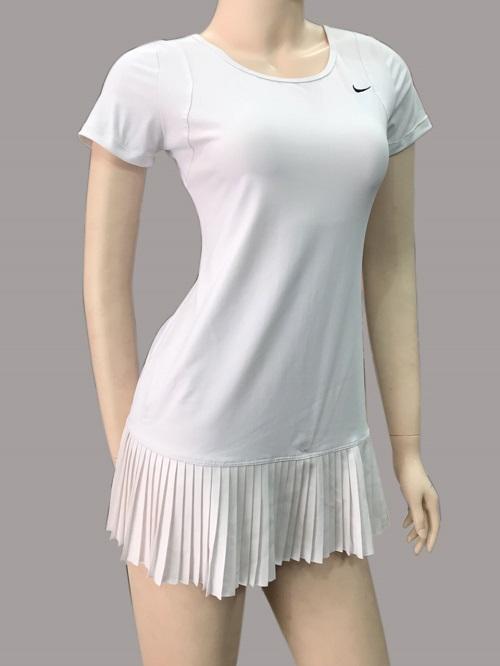 Đầm Tennis trắng 023