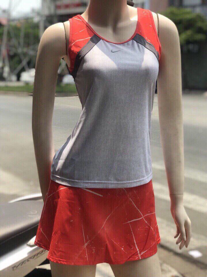 Váy rời Nike Xám phối Cam