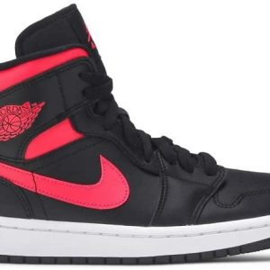 Nike Wmns Air Jordan 1 Mid 'Siren Red'