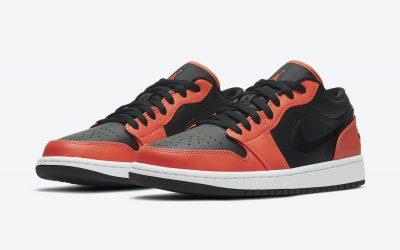 air jordan 1 low se black orange ck3022 008