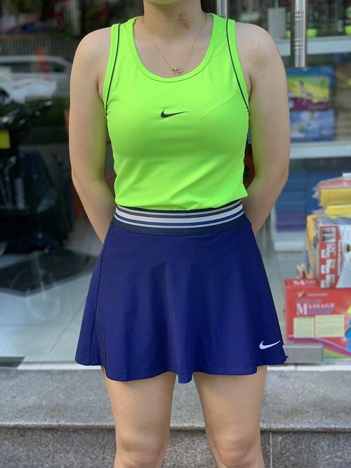 Bộ váy thể thao sát nách  N7001