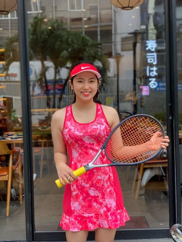 Đầm Tennis Hồng N9000