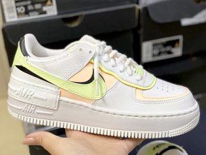 Nike Air Force 1 Shadow 'White Crimson Tint'