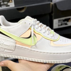 Nike Air Force 1 Shadow 'White Crimson Tint'