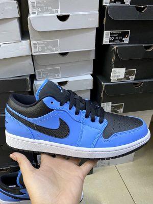 """Classic Air Jordan 1 Low """"University Blue"""" 553558-403"""