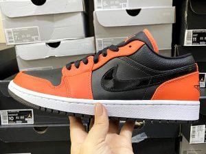 Nike AIR JORDAN 1 LOW SE black orange